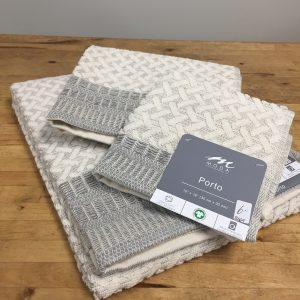 Organic Cotton and Linen Towel Porto