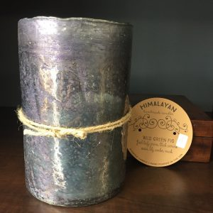 Hurricane Artisan Blown Candle