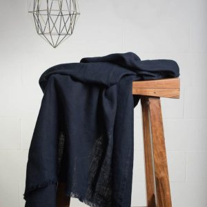 Lipari Linen Throw